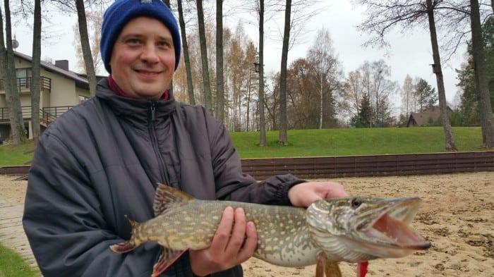 kaimo turizmo sodyba žvejyba