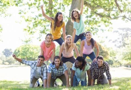 team-building kaimo turizmo sodyboje