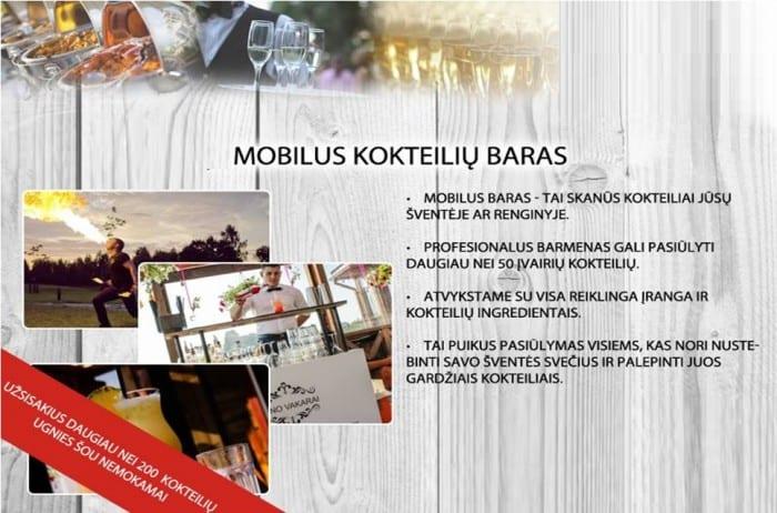 mobilus baras kaimo turizmo sodyba